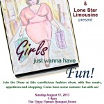 Girls' Just Wanna Have Fun Curvy & Plus Size Fashion Show and Party