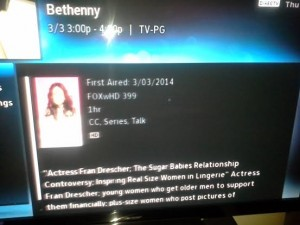 Curvy Girl on the Bethenny show March 3