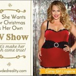 crowded reality with christmas dress