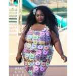 fat and free saucye in donut dress