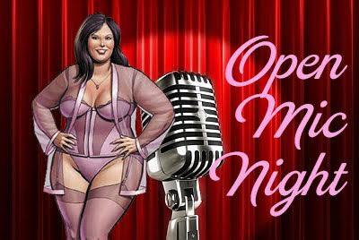Open Mic Night :  I Stand With Planned Parenthood : March 25th