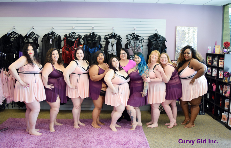 Curvy Girl Photoshoot : Babes Size 20 to size 28/30 : So Pretty