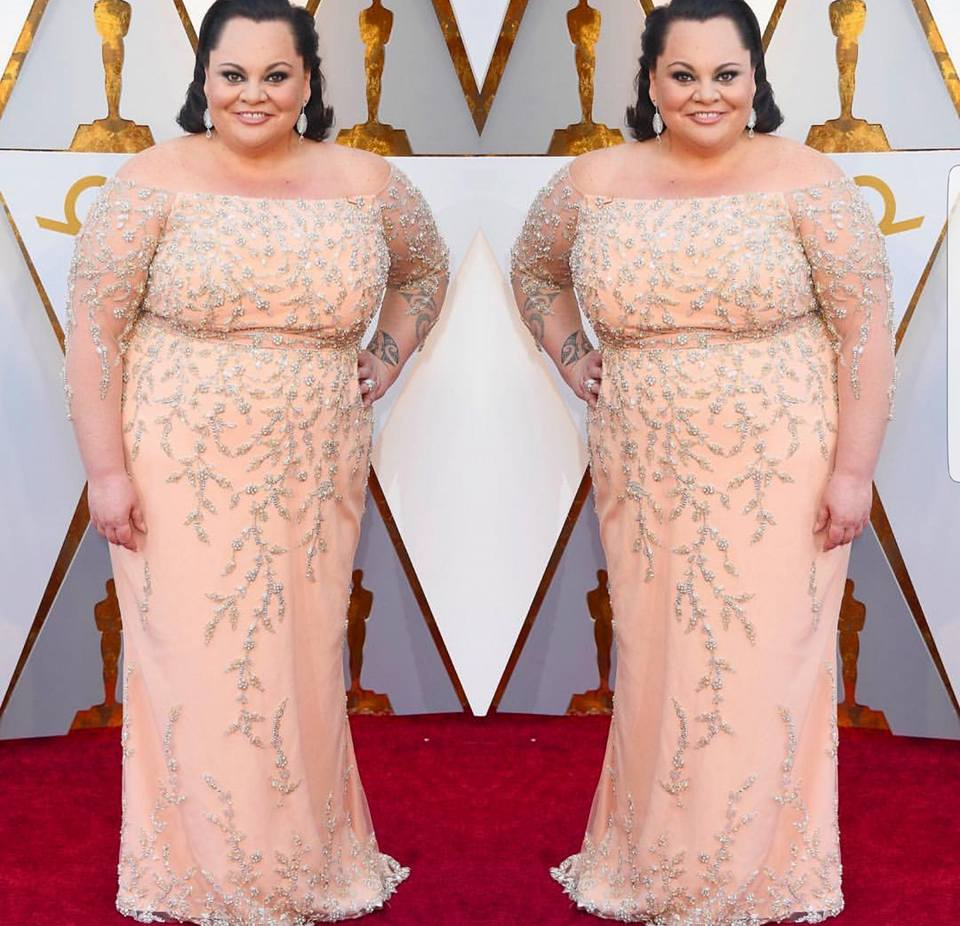 See any Curvy Girls at the Oscars?