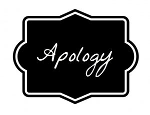 We Owe So Many of You An Apology