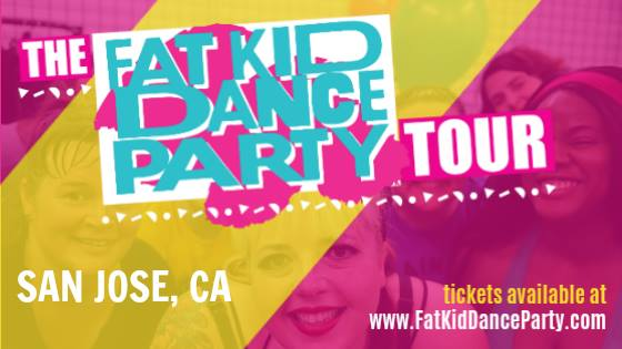 Fat Kid Dance Party is Coming to San Jose Again on Sept. 22