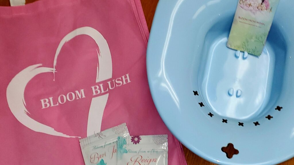 Product Review :  Bloom Blush by Eme  :  Yoni Steaming